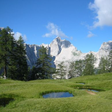 Guided Biking and Hiking Tours Alps Slovenia collage 11