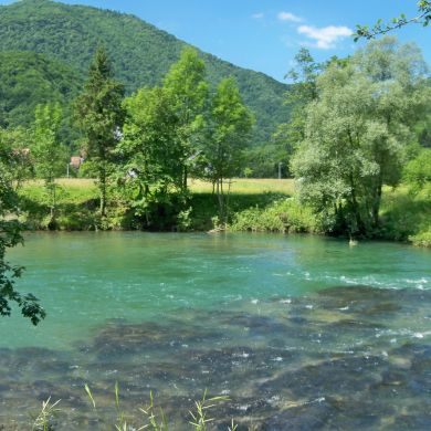 Guided Biking and Hiking Tours Alps Slovenia collage 13