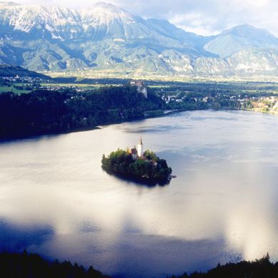 Guided Biking and Hiking Tours Alps Slovenia collage 15