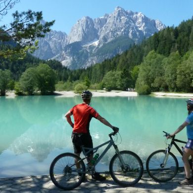 Guided Biking and Hiking Tours Alps Slovenia collage 17