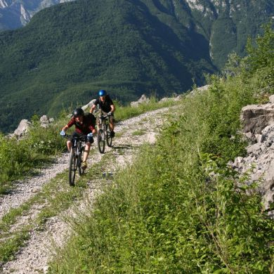 Guided Biking and Hiking Tours Alps Slovenia collage 19