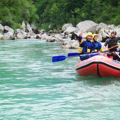 Slovenia Adventure Vacation Hiking Biking Rafting collage 6