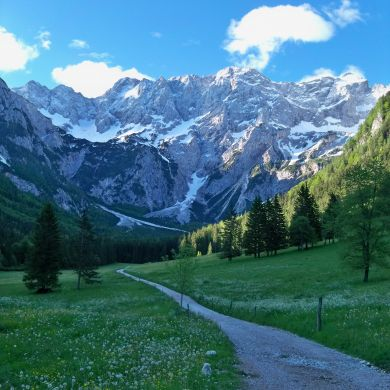 Guided Biking and Hiking Tours Alps Slovenia collage 23