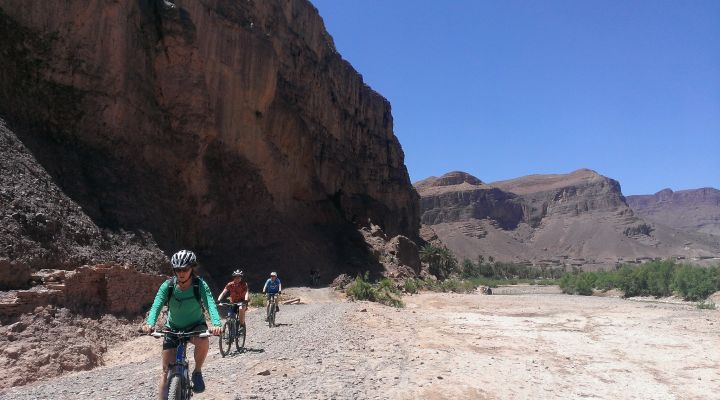 Biking Morocco High Atlas Sahara BikeHike