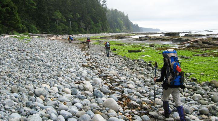 Backpacking British Columbia's West Coast Trail