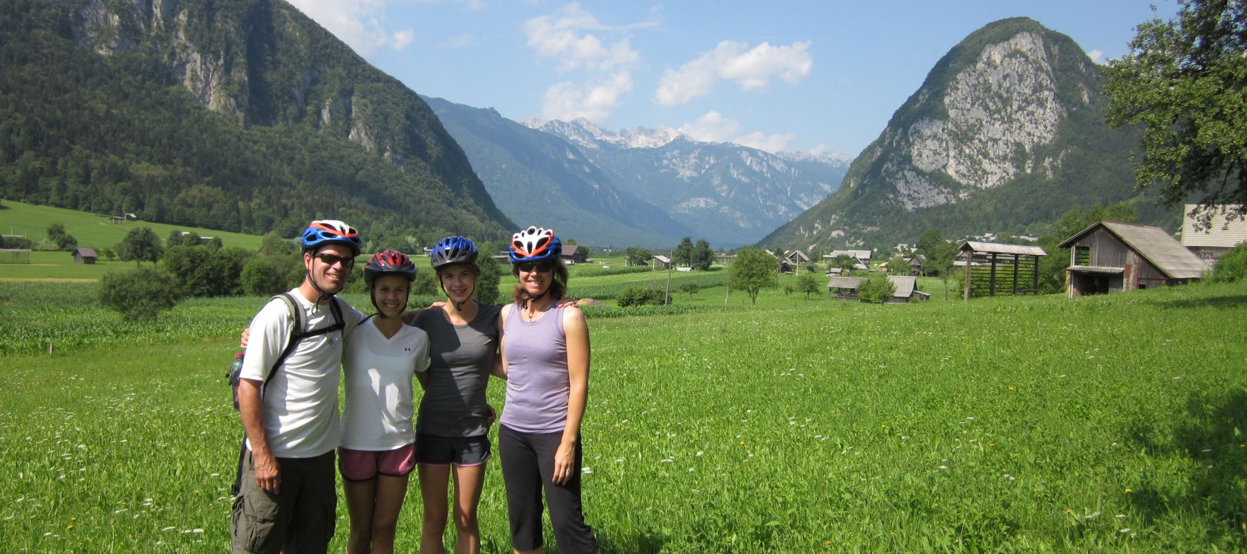 Guided Biking and Hiking Tours Alps Slovenia Lead image 2